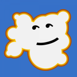 33 of 365 is a happy little cloud #inkscape