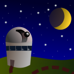 67 of 365 is an observatory on a hill in #Inkscape