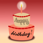 A birthday cake wish by John LeMasney via 365sketches.org #cc #design