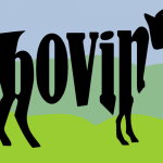 305 of 365 is a divine bovine #Inkscape #design #typography