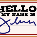 Hello my name is by John LeMasney via 365sketches.org #cc #design
