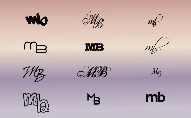 A Monogram For Melissa Brisbin Mb By John Lemasney Via