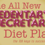 20111116: Disgusting book titles: The Sedentary Secretary Diet Plan by John LeMasney and Iddrise Ann via 365sketches.org #design