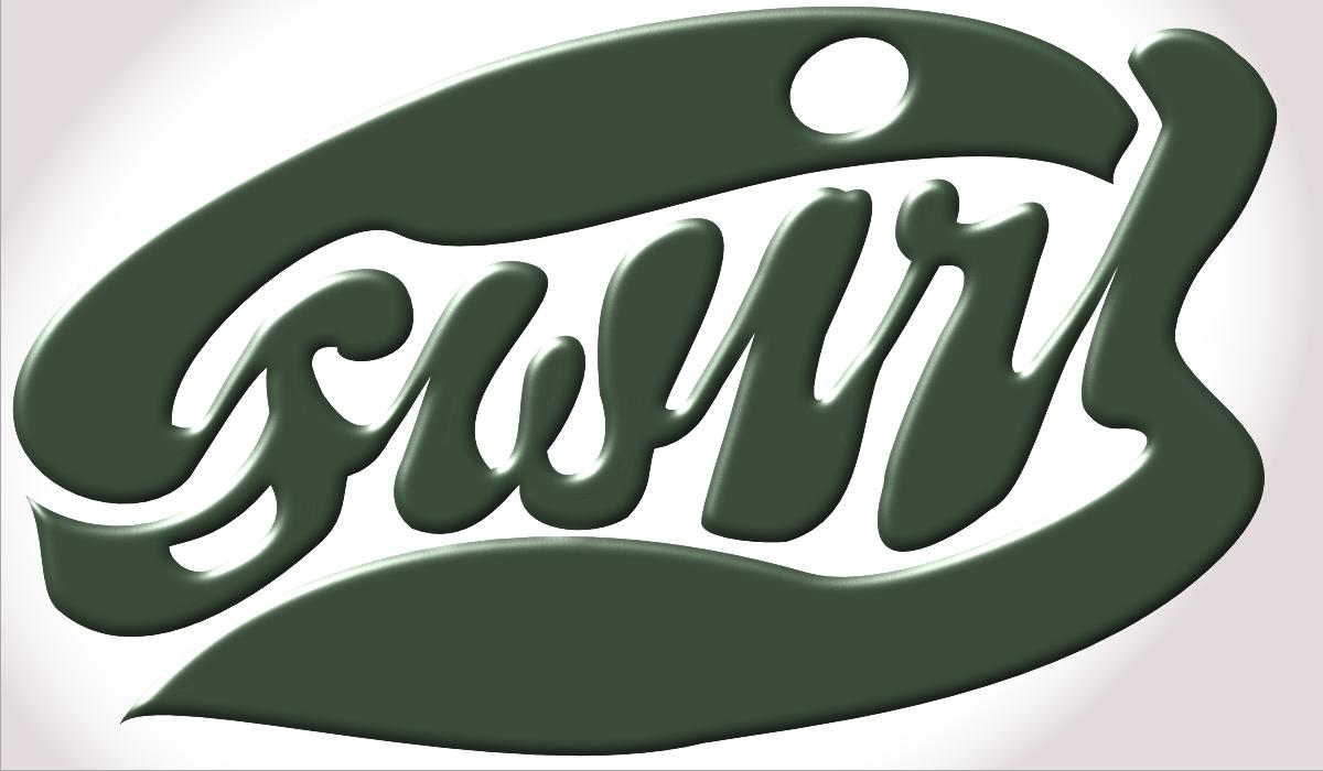 20121204: Swirl, a typographic flourish by John LeMasney via 365sketches.org #cc #design #typography