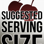 20121205: Suggested serving size by John LeMasney via 365sketches.org #cc #design #typography