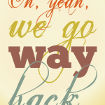 20121222: We go way back by John LeMasney via 365sketches.org #creativecommons #design