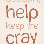20121219: Keep the cray in crazy by John LeMasney via 365sketches.org #creativecommons #design