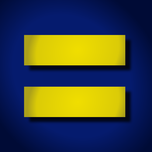 Equal Rights Emblem Version By John Lemasney Free To Use