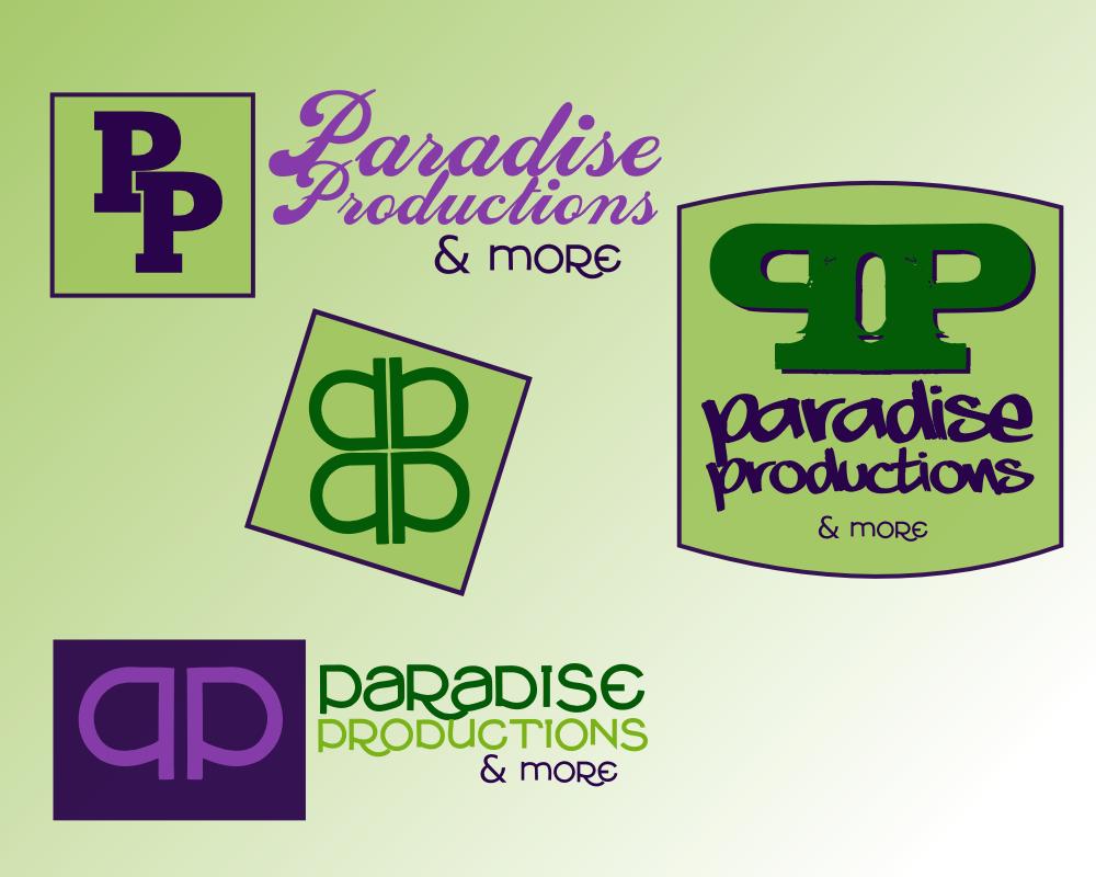 Paradise Productions brand study, revision 1, by John LeMasney via lemasney.com