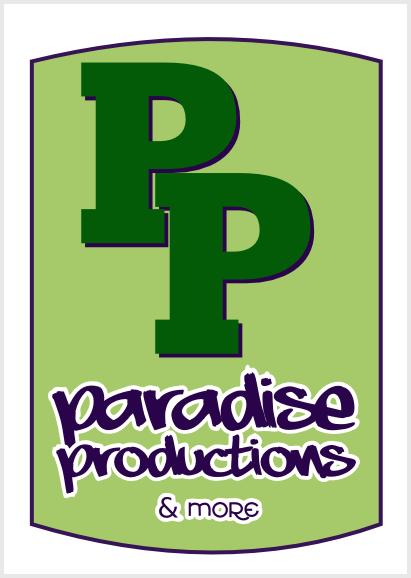 Paradise Productions brand study, revision 2, by John LeMasney via lemasney.com