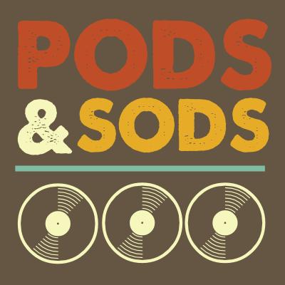 Pods and Sods logo by John LeMasney via lemasney.com