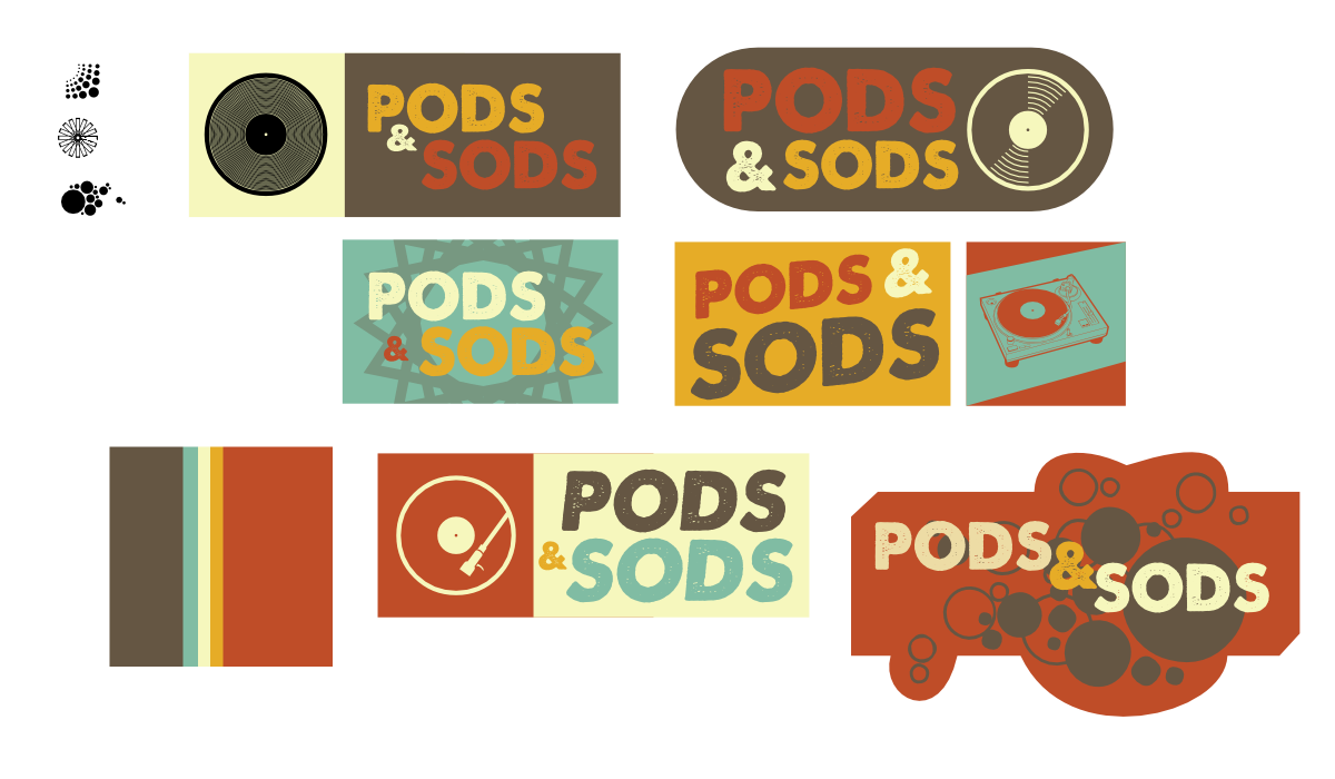 pods and sods logo set 1 by John LeMasney via lemasney.com