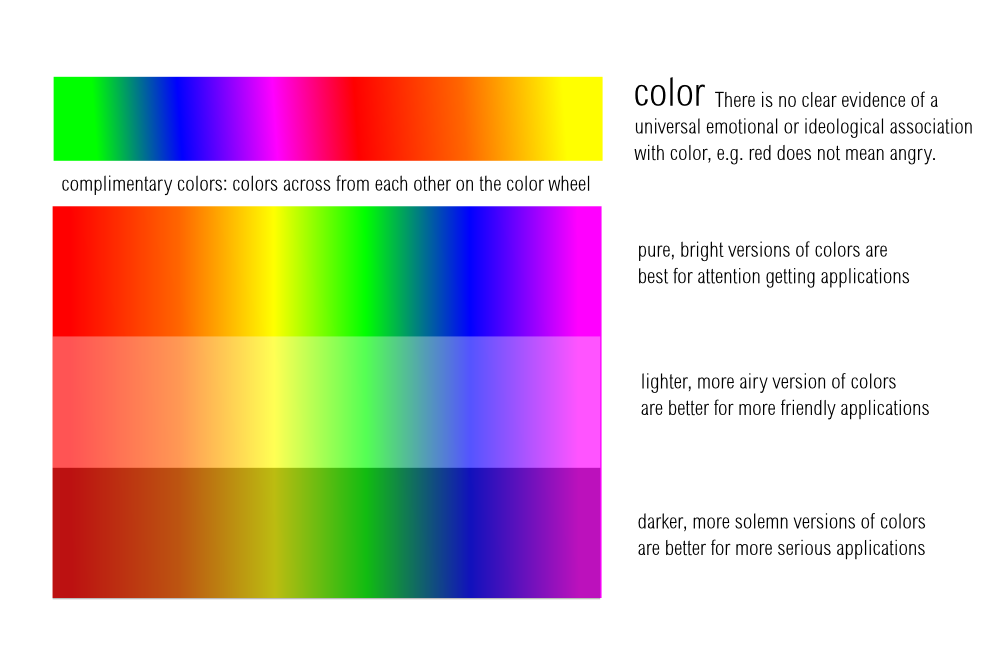 Color Principle Of Design : Of color design principle lemasney