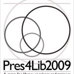 Unconference: Pres4Lib 2009