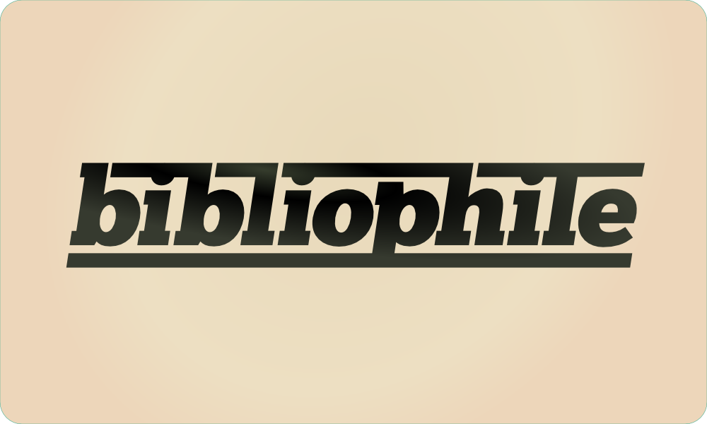 48 of 365 - bibliophile custom typography by John LeMasney via lemasney.com