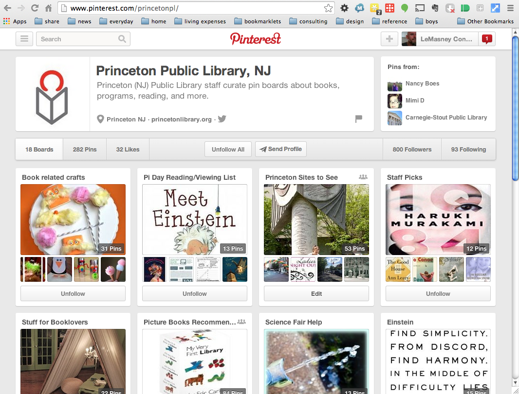 60 of 365: Using Pinterest to Gain a Visual Following (book chapter as serial post, part 2)