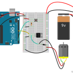 Arduino Starter Kit Project 09: Motorized Pinwheel