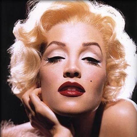 Pixelation Portrait Of Marilyn Monroe Lemasney