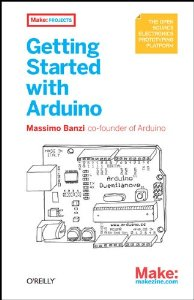 "Cover of ""Getting Started with Arduino (M..."