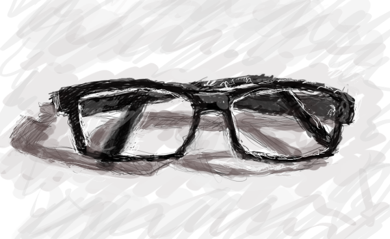 Geek glasses by lemasney
