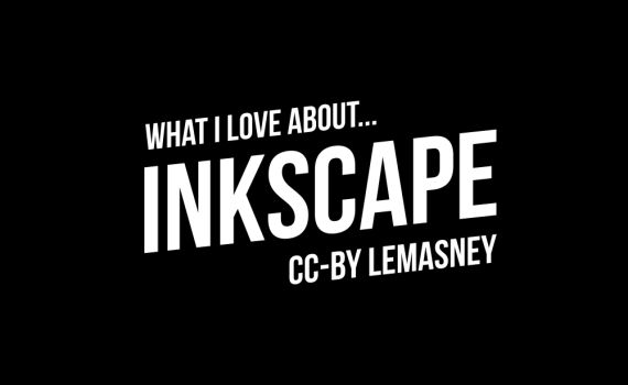What I love about inkscape thumbnail and title